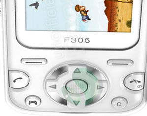 Sony Ericsson F305 Gaming Phone