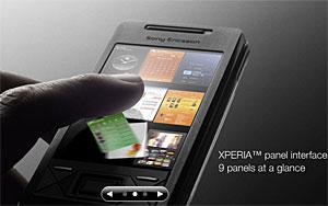 Sony Ericsson Xperia X1 Phone Packs 'Panel Interface'