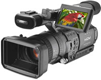 Sony HDR-FX1 HD-CAM camera