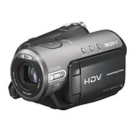 Sony HDR-HC3 Hands On With Their First HDD Camcorder