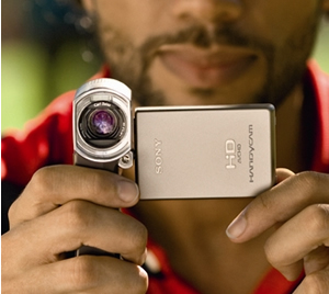 Sony Handycam HDR-TG3E: World's Smallest HD 1080 Camcorder