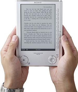 Sony PRS-505 eBook Reader Announced