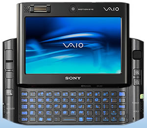 Sony UX490 (VAIO UX) Micro PC Released
