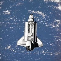Shuttle Returns From Space Safely
