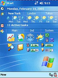 SPB Weather plug in for Pocket PCs