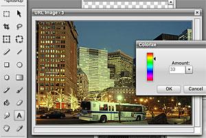 SplashUp: 'Mini Photoshop' Free Online Image Editor