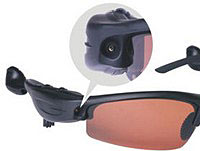 Spooky Snapping Sunglasses With Remote Control