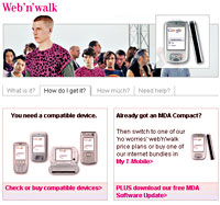 T-Mobile's Web'n'Walk Advertising Slapped Down By UK Ad Authority
