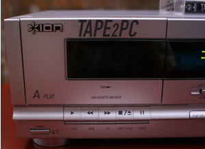 Tape 2 PC: Ion USB Cassette Deck: First View