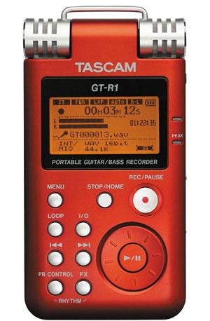 Tascam GT-R1 Portable Guitar/Bass Recorder Announced