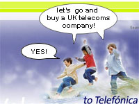 Telefonica To Buy O2 for £17.7 billion