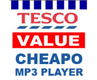 Tesco Stocks Up On MP3 Players