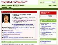 theyworkforyou.com Keeps Tabs on MPs Performance