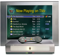 TiVo with remote