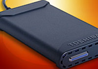 Toshiba Introduces First 200GB USB 2.0 Portable Storage