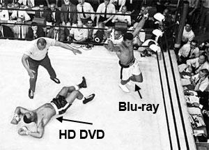 Toshiba Set To Dump HD DVD. Shares Surge