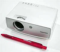Toshiba LED Pocket Projector For 3G Phones:IFA