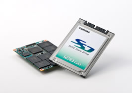 Toshiba 128GB Solid State Drives On The Way