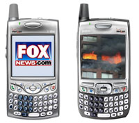 Fox Uses Smartphone To Transmit Live TV News