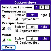 TréoCiel Weather Forecast For Palm Treo Review (90%)