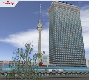 Twinity: Berlin Virtualised