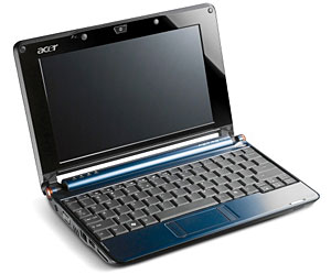 Acer Hit #1 In Europe Boosted By Netbooks Sales