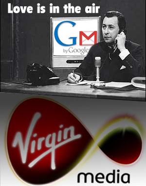 Virgin Signs Up To Google Email Deal