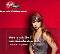 Virgin Mobile France Launches