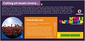 Vodafone And MySpace Hook Up To Create Interactive Mobile Music Platform