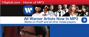 Warner Drop DRM On 7Digital