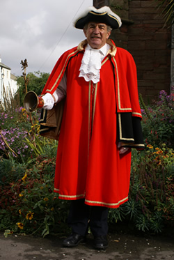 Whitehaven: Town Crier Rings Out The Digital Changes