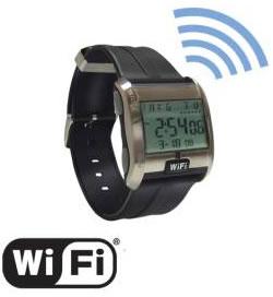 Reloj Detector de Señal Wi-Fi