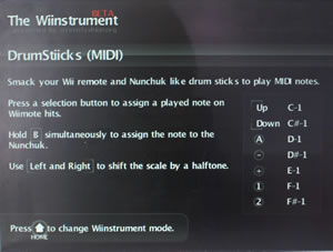Wiinstrument: Wii Druming On Mac: Video and Podcast