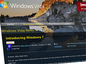 Windows New OS To Be Called Windows 7