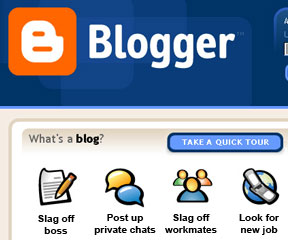 Blathering Work Bloggers Risk The Boot