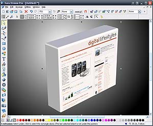 Xara Xtreme V4 Graphics package - Review