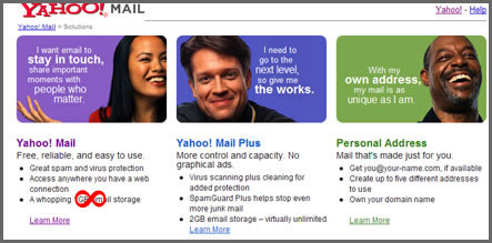 Yahoo Mail To Go Unlimited