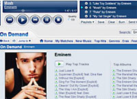 Yahoo Unveils Online Music Store