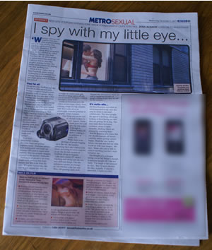 YouPorn Featured In London Metro Newspaper