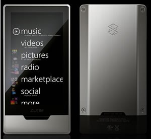 Zune HD: Finally A Decent Look Device